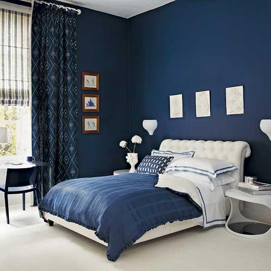 tendencias en el hogar azul