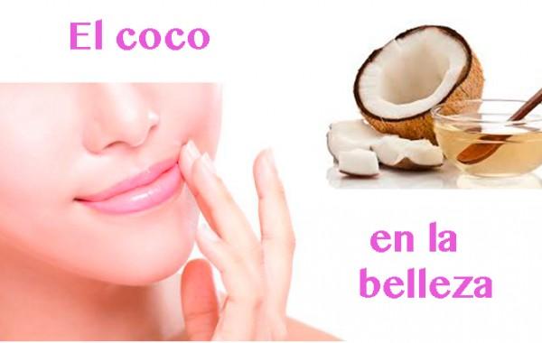 el coco en la belleza