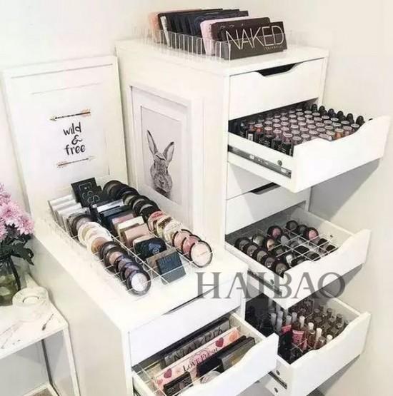 Ideas para organizar los pinceles y brochas de maquillaje