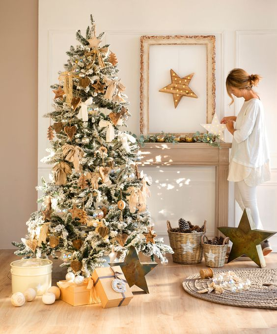 Inspiración de decoración navideña