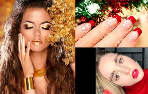 Tendencias en maquillaje en navidadppal