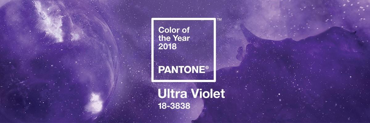Conoce el color Pantone del año 2018: Ultra Violet
