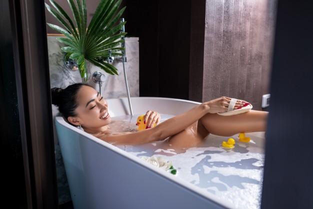 como hacer sales de baño caseras