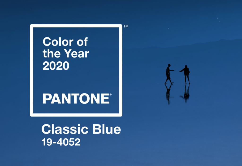 Color Pantone 2020 : Classic Blue