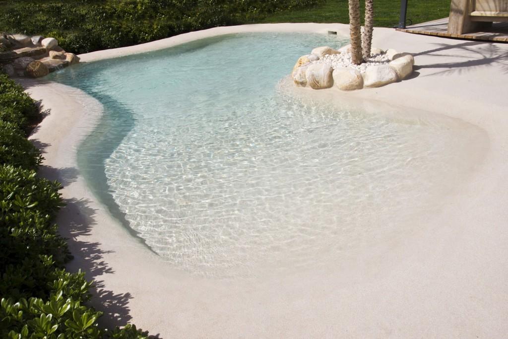piscina de arena ideas